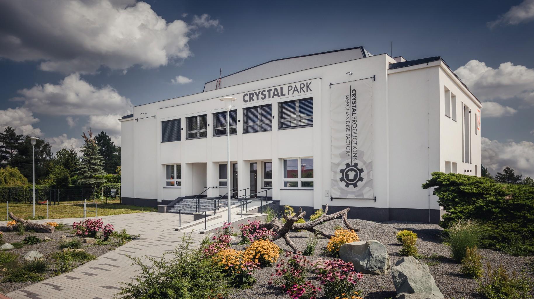 Crystal Park - hlavní vstup