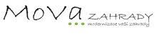 MOVA Zahrady logo